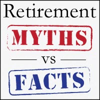 retirement myths versus facts