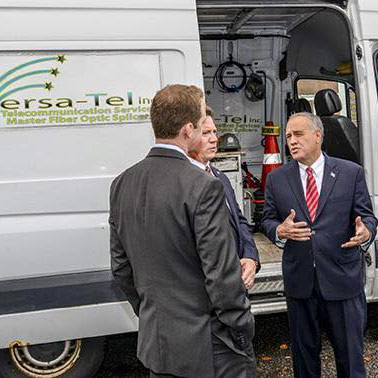 Invested in New York — Comptroller DiNapoli at Versa-Tel