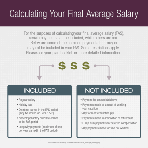 NYSLRS Basics: Understanding your Final Average Salary