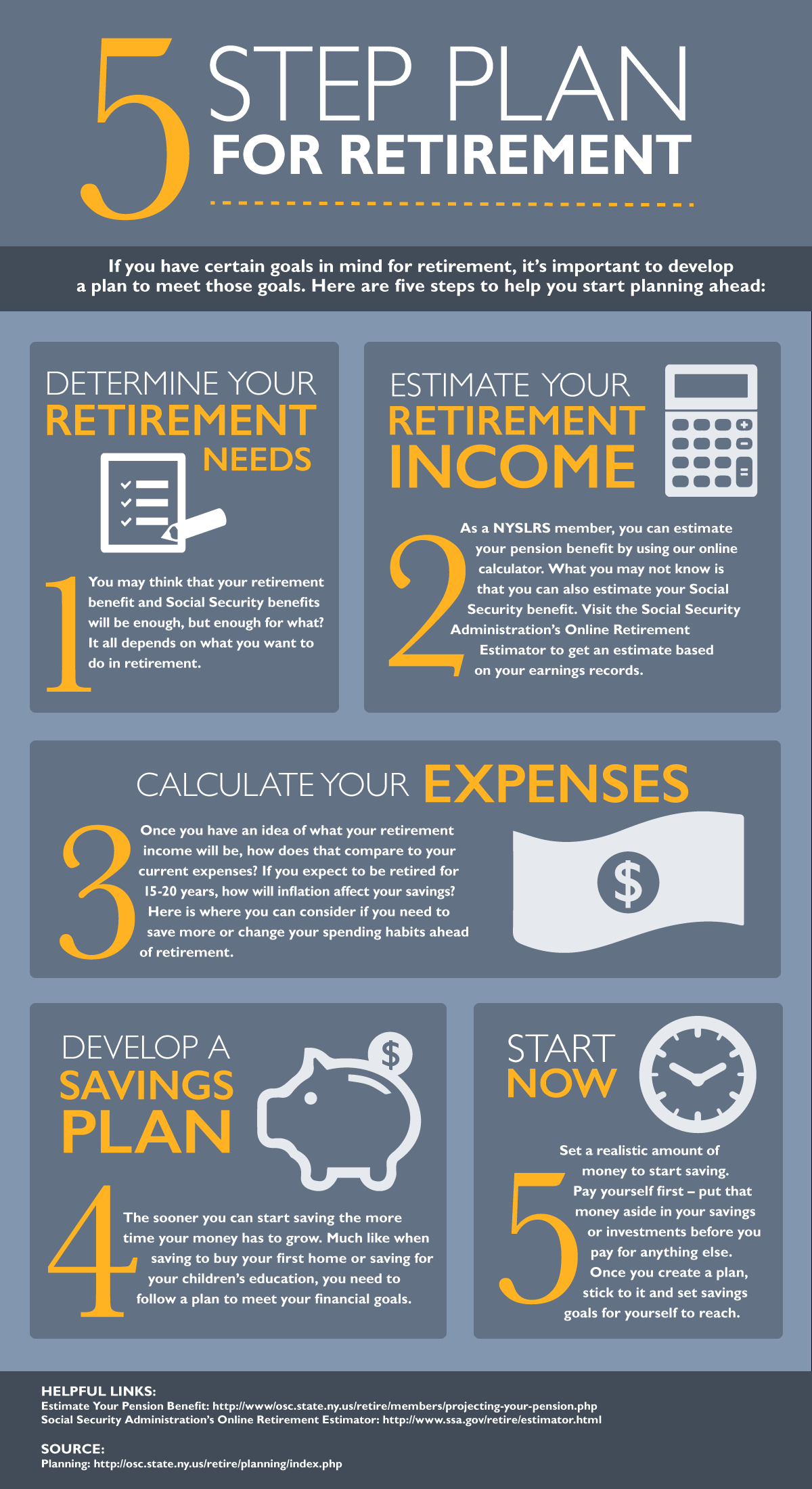 Retirement Security in 5 Steps