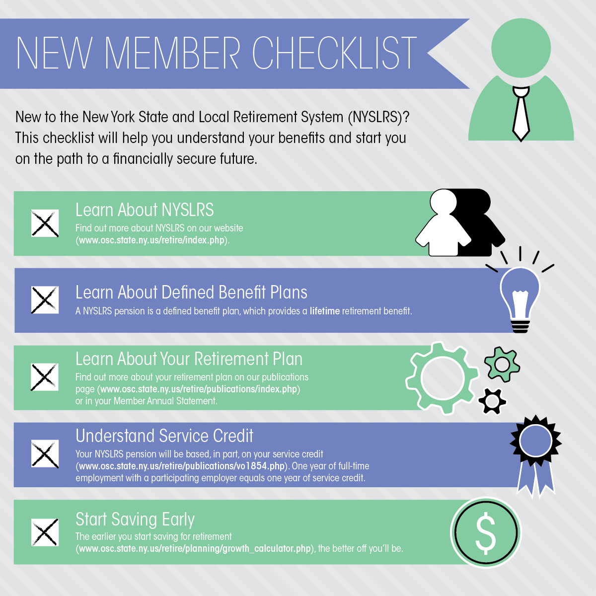 New Members Checklist