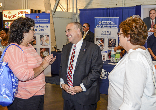 Comptroller DiNapoli visits the New York State Fair