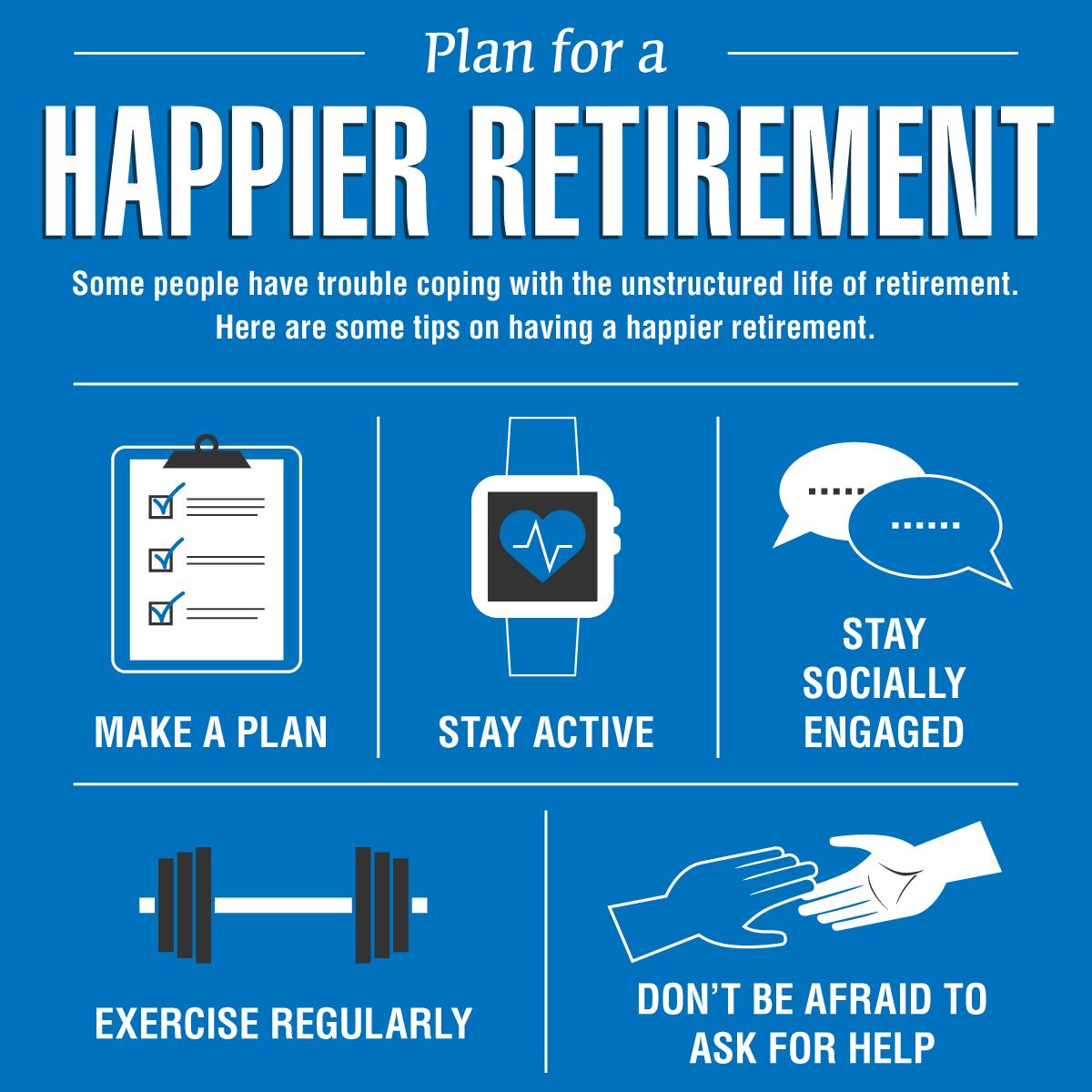steps to ease transition to retirement