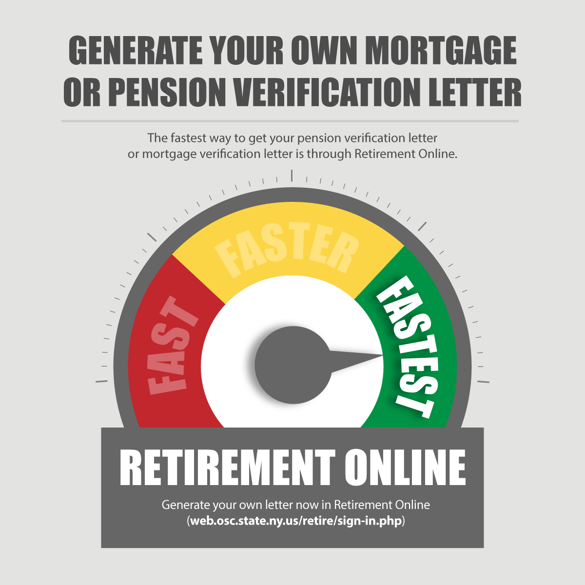 pension verification letter infographic