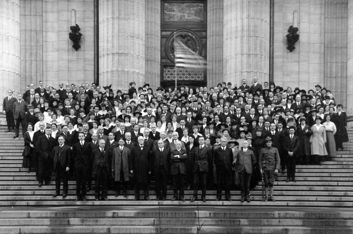 Members of the Employees' Retirement System, 1921