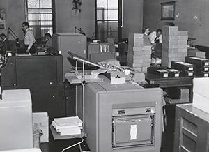 NYSLRS accounting machine.