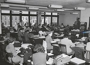 The IBM 407 Accounting Machine, mid-1950s
